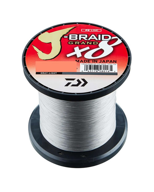 Daiwa J-Braid X8 Grey-Light