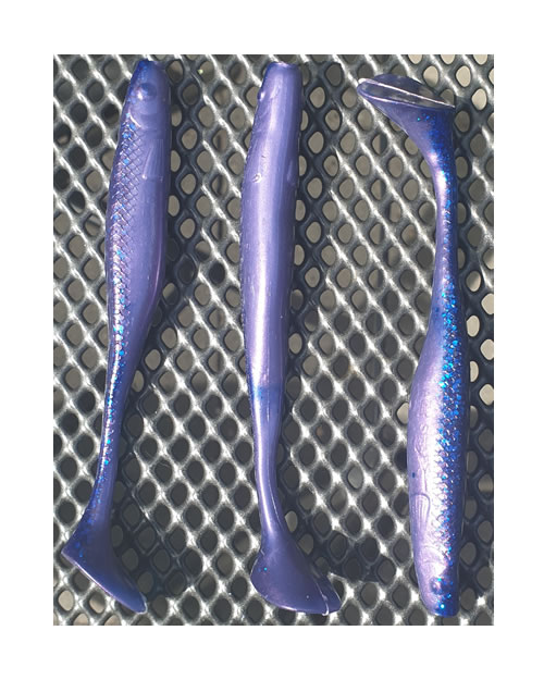 KP Baits Lazy Shad 13 cm Electric Blue